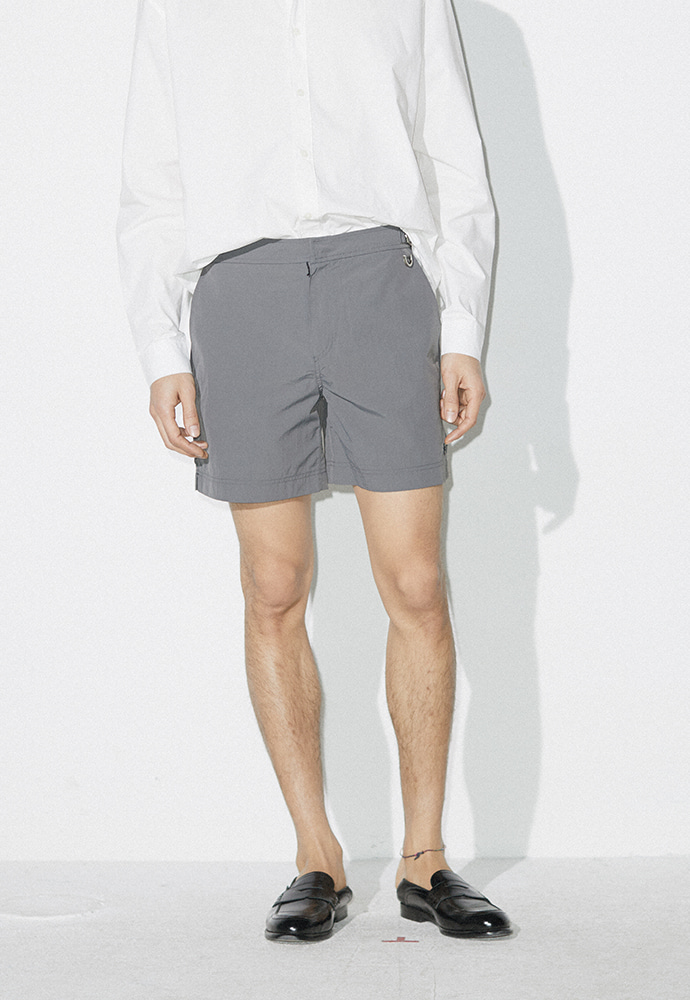 Crudo Surf Trunks_ Grey