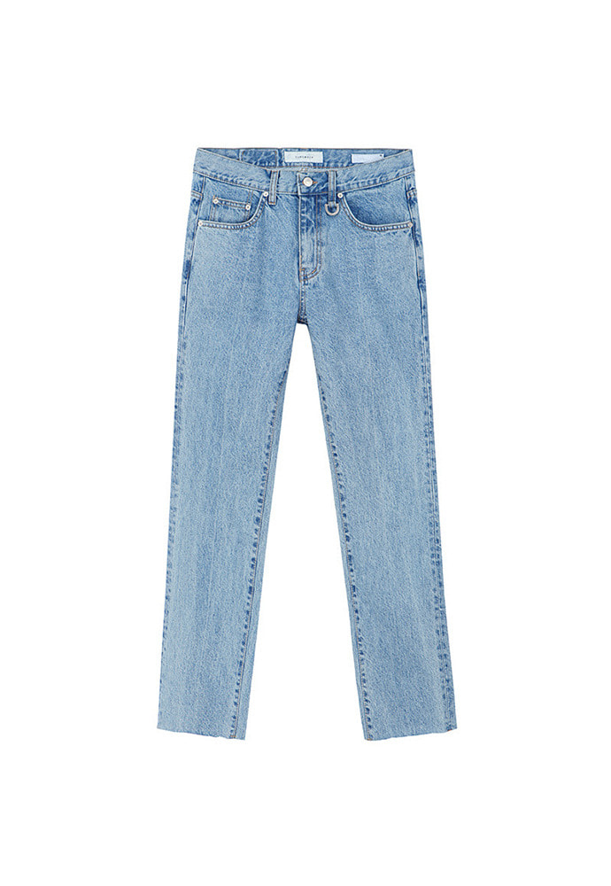 Musk Slim-Straight Jeans_ Light Blue