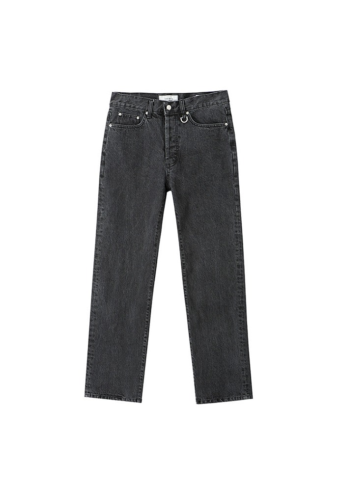 Signature Relaxed Jeans_ Black Washing