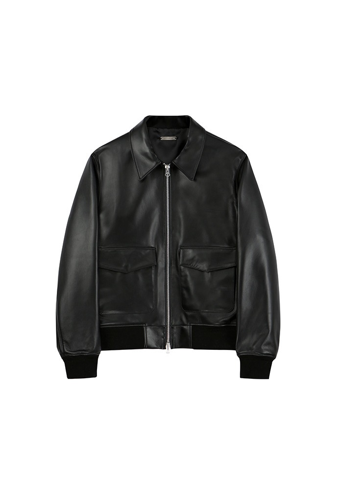 Port Leather Flight Jacket
